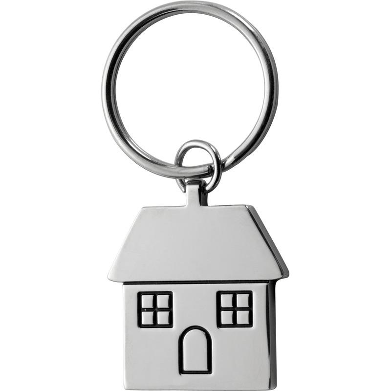 Huis sleutelhanger 7 cm